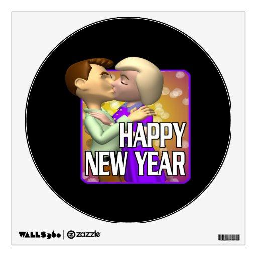 Happy New Year 10 Room Sticker