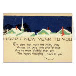 Happy New Year 1915 Vintage Card