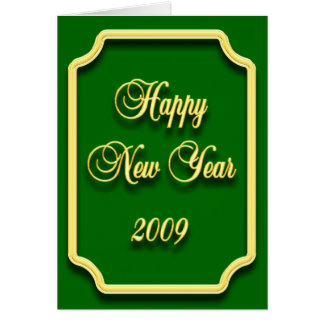 Happy New Year 2009 Card