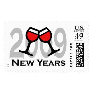 Happy New Year 2009 Custom Postage - Customized