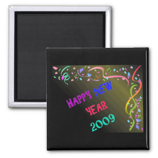 HAPPY NEW YEAR 2009 MAGNET