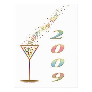 Happy New Year 2009 Postcard