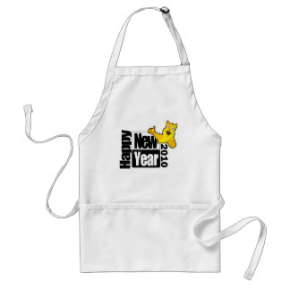 Happy New Year 2010 Adult Apron