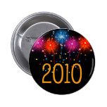Happy New Year  2010 Buttons