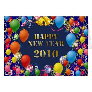Happy New Year 2010 Card