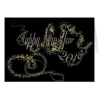 Happy New Year 2010 Greeting Card