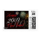 Happy New Year 2010 - Holiday Postage Stamps