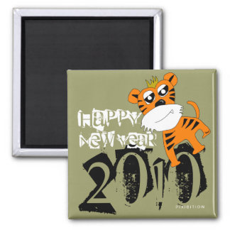 Happy New Year 2010 Magnet