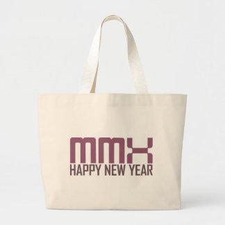 Happy New Year 2010 (MMX) Canvas Bag