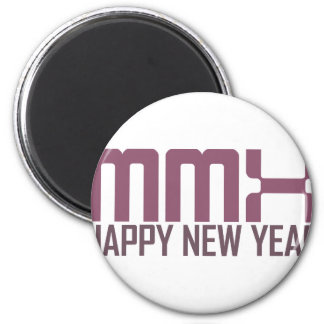 Happy New Year 2010 (MMX) Magnet