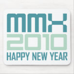 Happy New Year 2010 (MMX) Mousepad