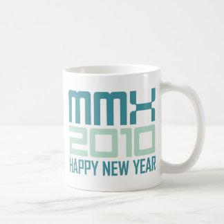 Happy New Year 2010 MMX Coffee Mug
