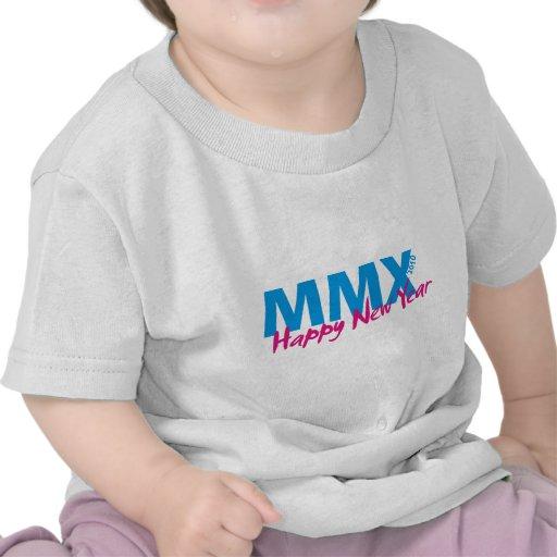 Happy New Year 2010 (MMX) Tee Shirts