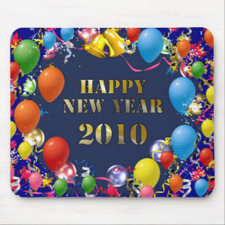 Happy New Year 2010 Mouse Pad