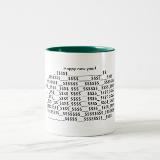 Happy new year 2010 coffee mugs