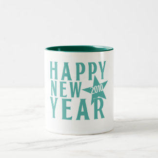 Happy New Year 2010 Party Coffee Mugs