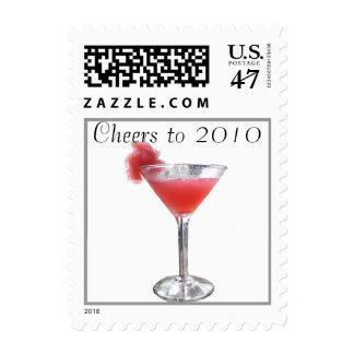 Happy New Year 2010 Stamp