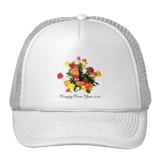 Happy New Year 2010 Trucker Hat