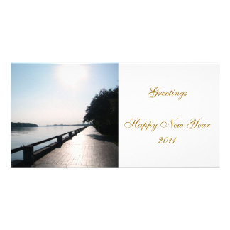"""Happy New Year 2011"" Card"