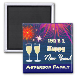 Happy New Year 2011 Magnet