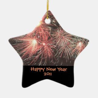 Happy New Year 2011 Ornament