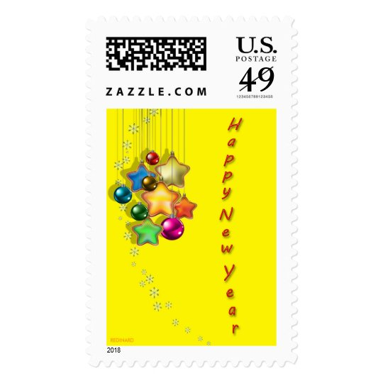 HAPPY NEW YEAR 2011 POSTAGE
