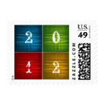 Happy New Year 2012 Postage Stamp