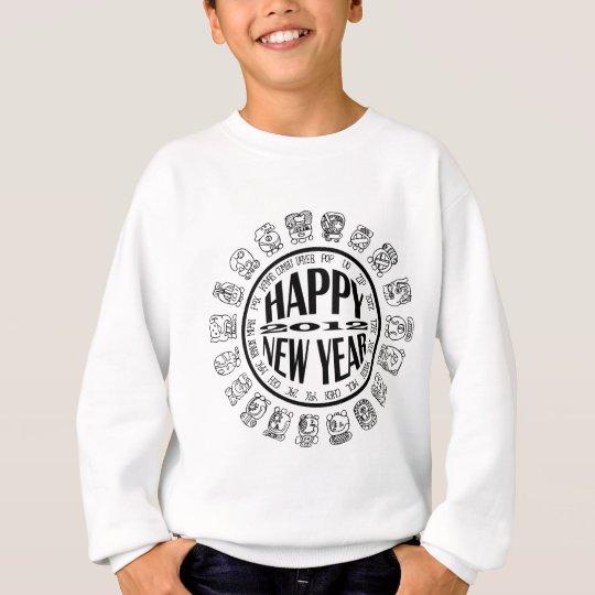 happy new year 2012 sweatshirt