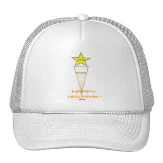 Happy New Year 2012 Trucker Hat