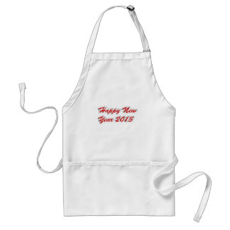 Happy New Year 2013 Adult Apron