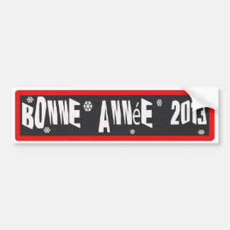 Happy new year 2013 bumper sticker