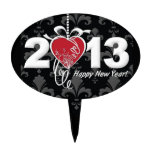 Happy New Year 2013 Cake Topper