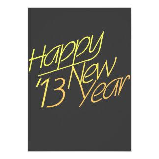 Happy New Year 2013 Card