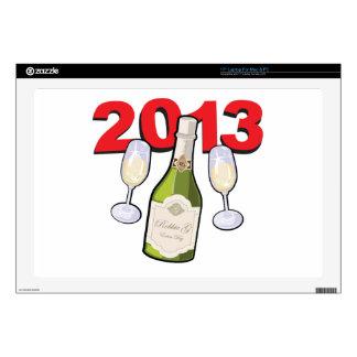 Happy New Year 2013 Celebration Laptop Skin