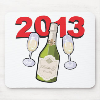 Happy New Year 2013 Celebration Mouse Pad