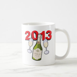 Happy New Year 2013 Celebration Mugs