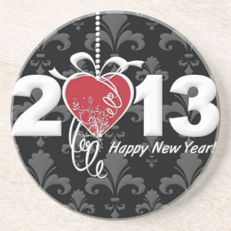 Happy New Year 2013 Coaster