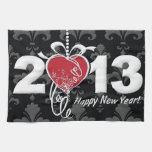 Happy New Year 2013 Kitchen Towel