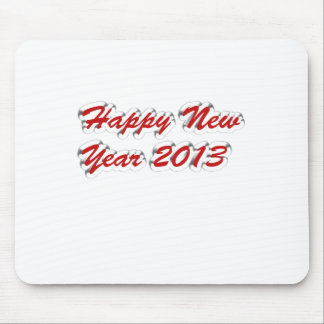 Happy New Year 2013 Mousepads