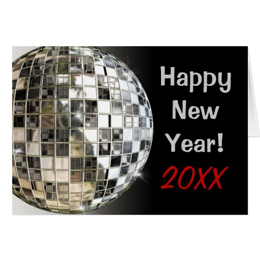 Happy New Year 2013 Or Any Year Greeting Cards