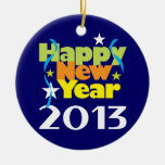 Happy New Year 2013 Ornaments