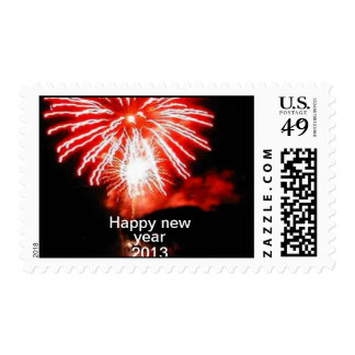 Happy new year 2013 stamps