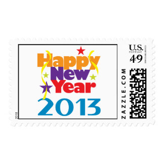 Happy New Year 2013 Postage