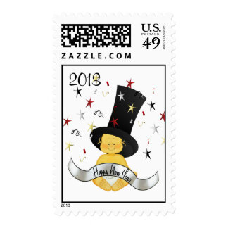 HAPPY NEW YEAR 2013 Postage Stamp