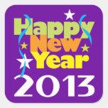 Happy New Year 2013 Sticker