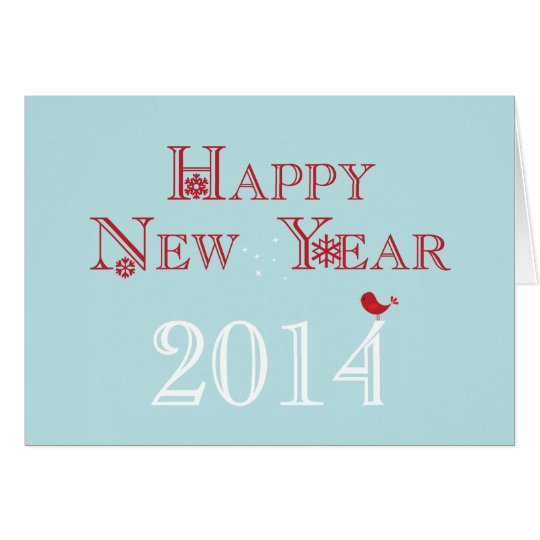 Happy New Year {2014} Card