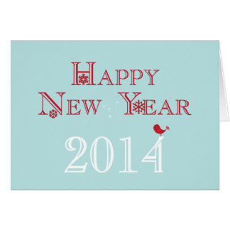 Happy New Year {2014} Greeting Card