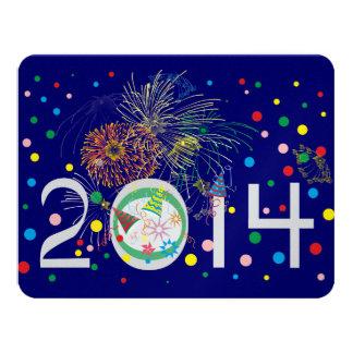 Happy New Year 2014 Custom Invites