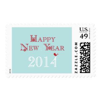 Happy New Year {2014} Postage