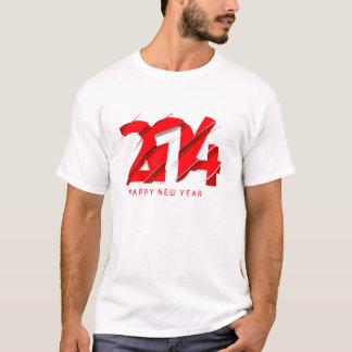 Happy new year 2014 tee shirt